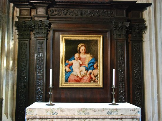 King's College Chapel: Madonna and Child, Whichcote Chapel