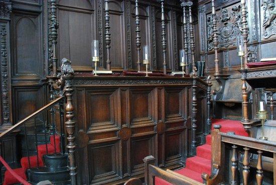 King's College Chapel: Choir Stalls
