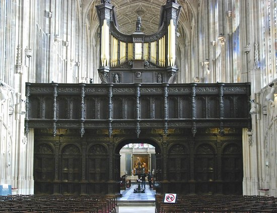 King's College Chapel: Rood Screen with Organ