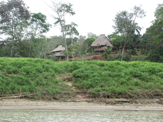 Embera Indian village in Chagres National Park