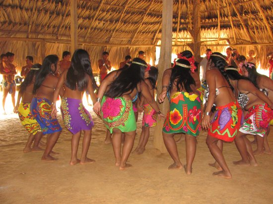 Chagres National Park: Traditional dance