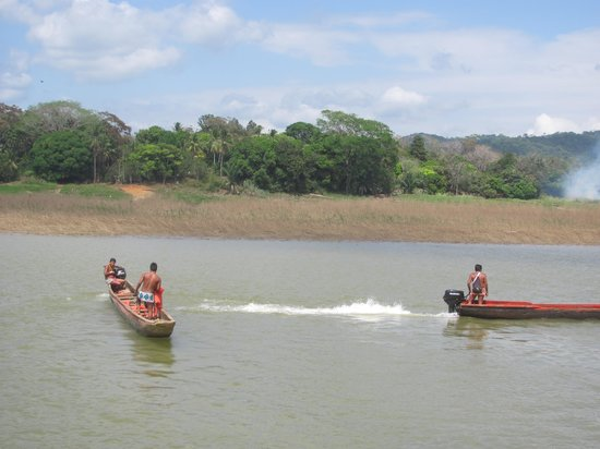 Chagres National Park: Dugout canoes