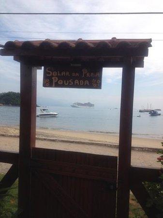 Pousada Solar da Praia: Localização!