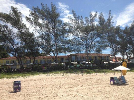 Pousada Dos Gravatas : View from the beach