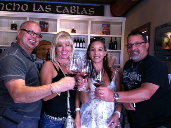 Wine Wrangler - Day Tours: Good times with good friends...and wine, of course! Paso Robles - March 2013