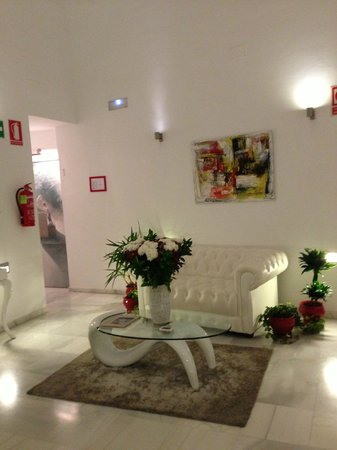Hotel Palacio Alcazar: Reception area