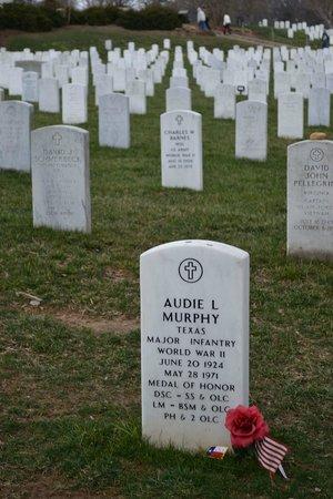 audie murphy grave site kuva arlington national cemetery