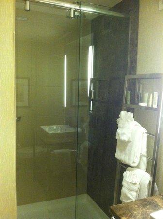 Moonrise Hotel: Nice rain shower faucet head