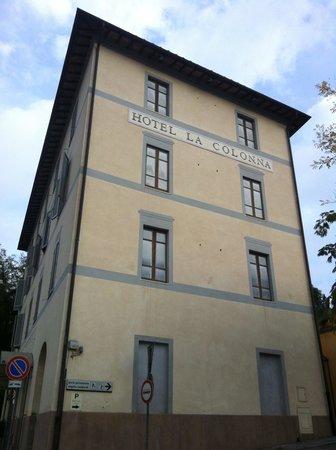 """Facciata """"Hotel La Colonna"""""""