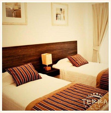 Hotel Terra: Habitaciones