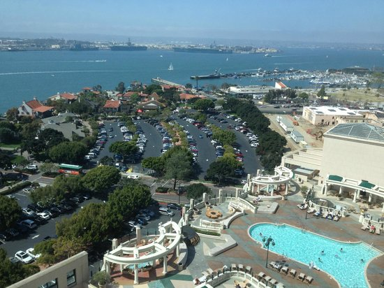 Manchester Grand Hyatt San Diego: View of Harbour from room