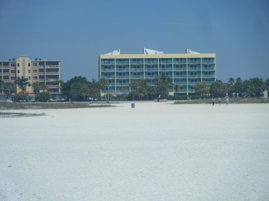 South Beach Condo/Hotel: Beach side view of condo