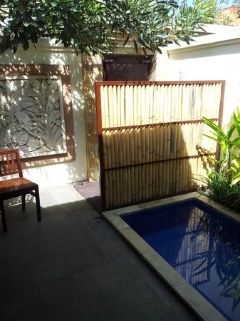 Best Western Kuta Villa: full naked no one will see