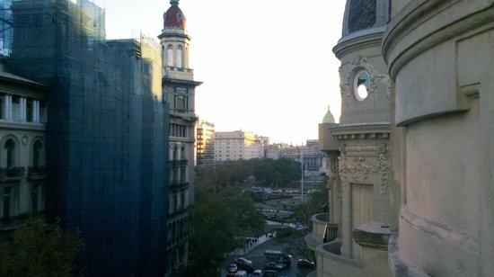 Terrazas Estoril: Vista hacia Plaza de Mayo