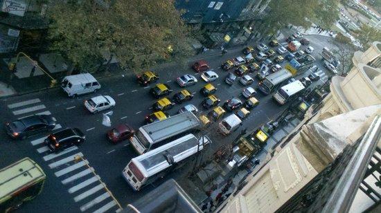 Terrazas Estoril: Vista hacia la calle