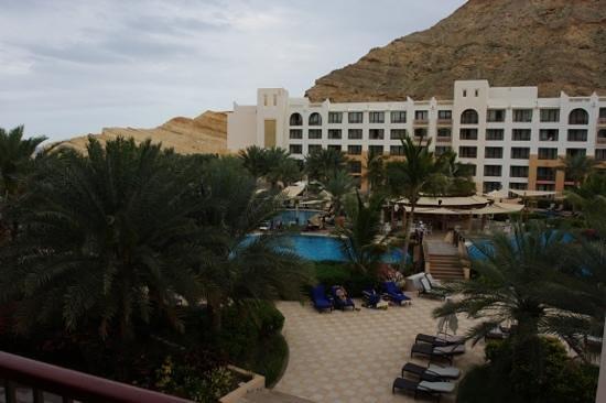 Shangri La Barr Al Jissah Resort & Spa - Al Bandar Hotel: Al Waha, Blick vom Balkon des Doppelzimmer