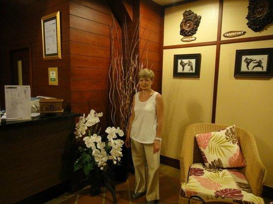 Krabi Resort: На ресепшен