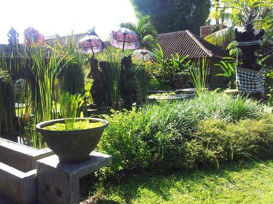 Ubud Villas and Spa: pathway to lobby