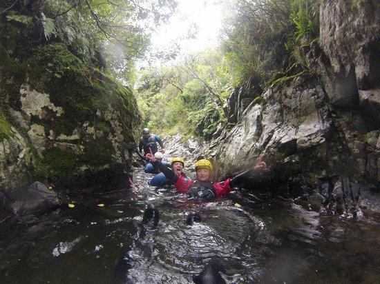 Arundel, New Zealand: Big Rock Canyon