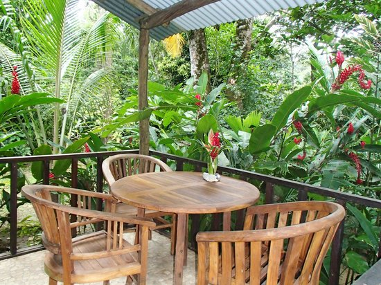 Red Frog Bungalows: Patio