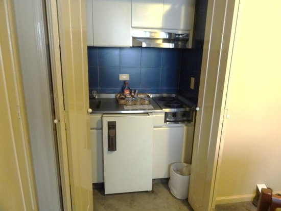 Chico Imperial Suites : kitchenette