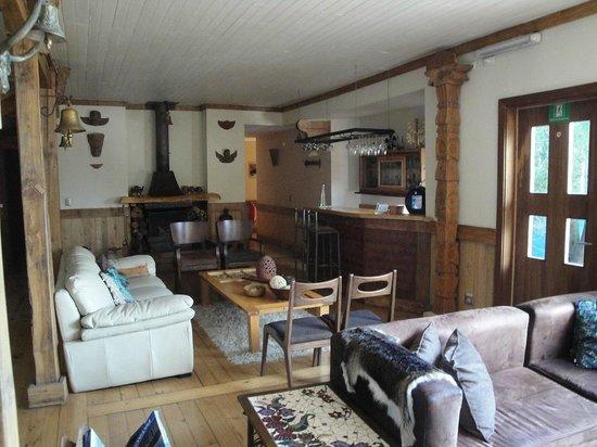 Casa Kalfu: Salón de estar