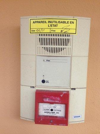 Kawann Beach Hotel : La sécurité incendie