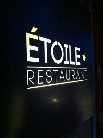 Etoile Restaurant: étoile