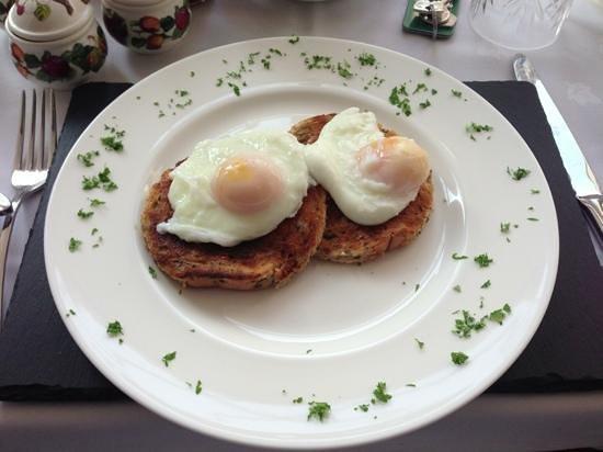Heatherfield House: delicious eggs