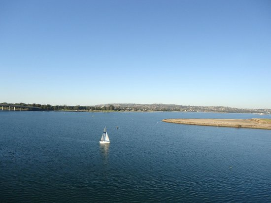 Taman Hiburan SeaWorld San Diego: View from Cable Car