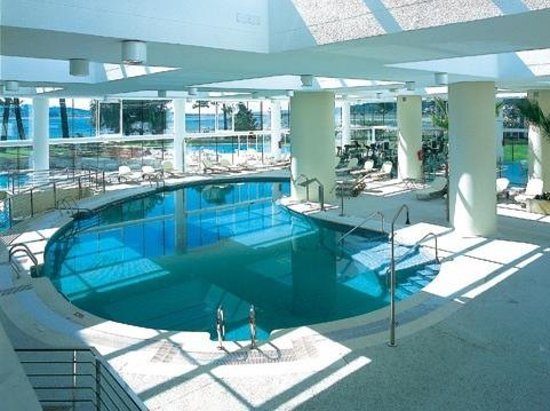 Hotel Eurostars Isla de La Toja: piscina Hesperia