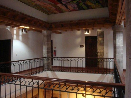 Hotel Casa Virreyes: Common area