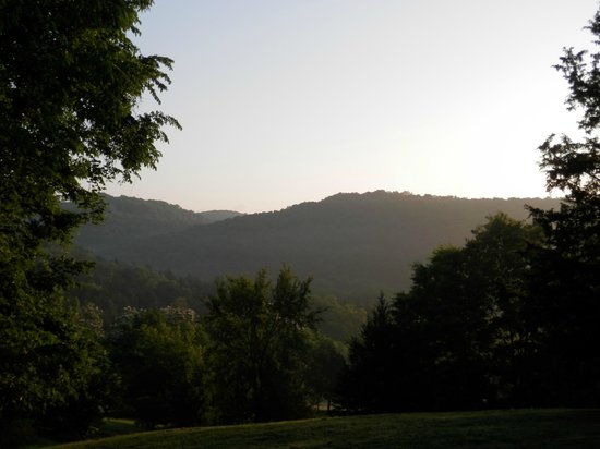 Retreat at Sky Ridge: The view from the valley