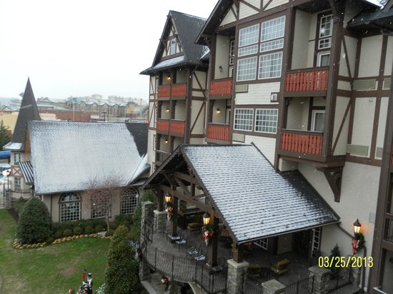 The Inn at Christmas Place: View from Balcony