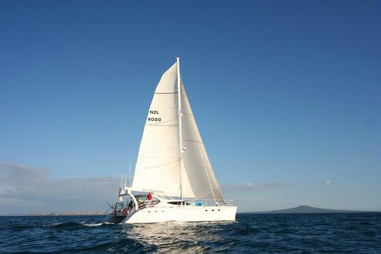 NZ Yachts 4 Charter: Helena by Rangitoto Island, Auckland