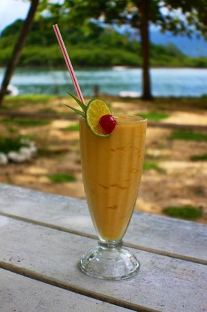 Captain's Cafe : Fresh fruit smoothy