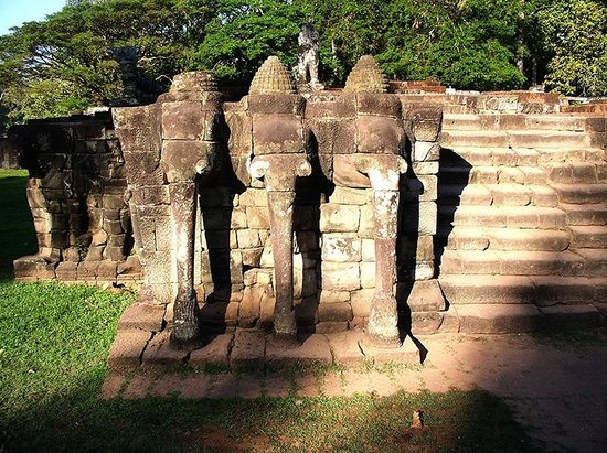 Elephants at Angkor Thom