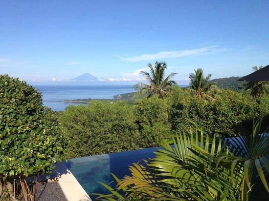 The Puncak: Bali island looks nearby