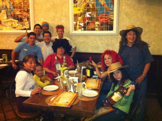 Cholula La Fonda : Festejando el cumpleaños del compadre!