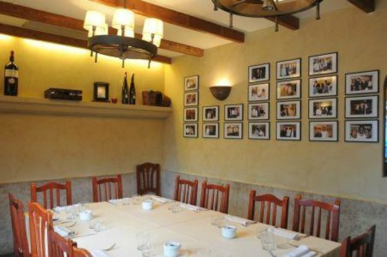 Restaurante La Vila : salon