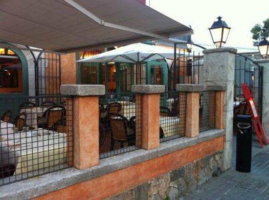 Restaurante La Vila : terraza