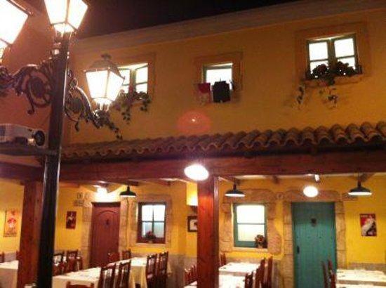 Restaurante La Vila : plaza