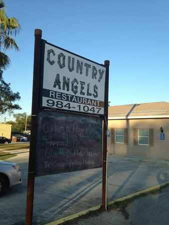 Country Angels: Front Sign