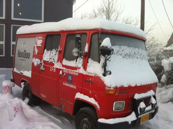 HooDoo Brewing Company: Very Cool Brewery Vehicle