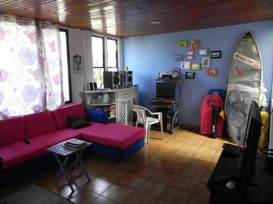 Blue Almond Hostel: Sala comun del hostel