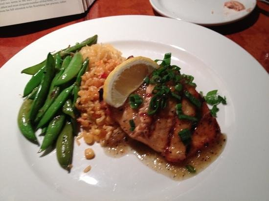 Silverheels Bar and Grill: salmon
