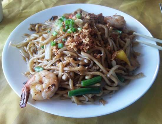 Cambo Beach Restaurant : VERY GOOD Shanghai Noodles