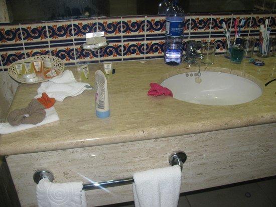 Grand Bahia Principe Coba: room after maids servise
