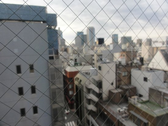 Super Hotel Ueno-Okachimachi : view