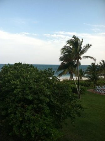 Taino Beach Resort & Clubs: View from the room.